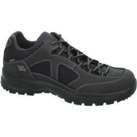 Hanwag Gritstone II Wide GTX Schoenen Heren, asphalt/black